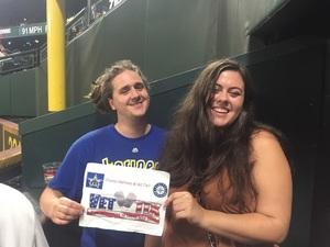 seth attended Seattle Mariners vs. Los Angeles Angels - MLB on Sep 8th 2017 via VetTix