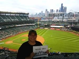 Christina attended Seattle Mariners vs. Los Angeles Angels - MLB on Sep 8th 2017 via VetTix
