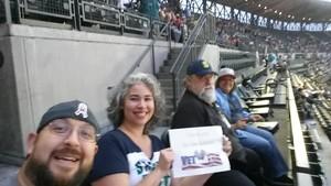 Dinah attended Seattle Mariners vs. Los Angeles Angels - MLB on Sep 8th 2017 via VetTix
