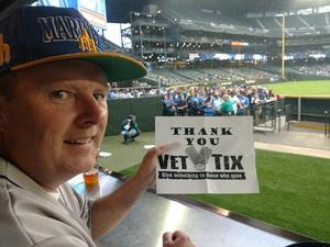 Danny attended Seattle Mariners vs. Los Angeles Angels - MLB on Sep 8th 2017 via VetTix