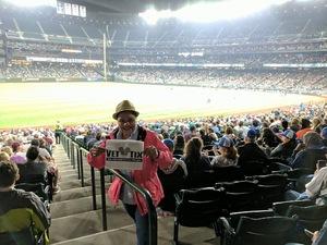 Dorothy attended Seattle Mariners vs. Los Angeles Angels - MLB on Sep 8th 2017 via VetTix