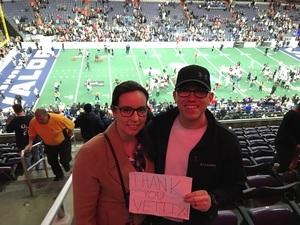 Caleb attended Washington Valor vs. Philadelphia Soul - AFL on Apr 22nd 2017 via VetTix