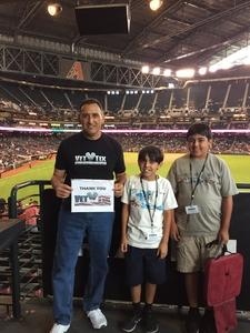 Click To Read More Feedback from Arizona Diamondbacks vs. Pittsburgh Pirates - MLB