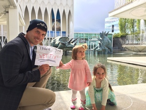 Matthew attended Pacific Science Center on May 14th 2017 via VetTix
