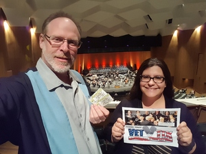 Jeff attended An Evening of Mozart - Presented by the Long Beach Symphony on Apr 29th 2017 via VetTix