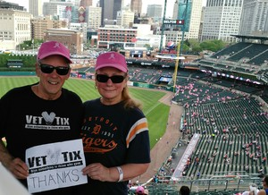 David attended Detroit Tigers vs. Baltimore Orioles - MLB on May 17th 2017 via VetTix