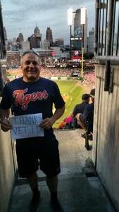 roger attended Detroit Tigers vs. Baltimore Orioles - MLB on May 17th 2017 via VetTix