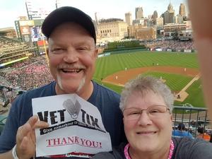 Alan attended Detroit Tigers vs. Baltimore Orioles - MLB on May 17th 2017 via VetTix