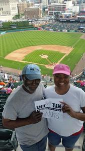 Alfred attended Detroit Tigers vs. Baltimore Orioles - MLB on May 17th 2017 via VetTix