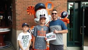 Mark attended Detroit Tigers vs. Baltimore Orioles - MLB on May 17th 2017 via VetTix