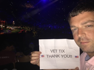 Matthew attended Neil Diamond - the 50 Year Anniversary World Tour on Apr 23rd 2017 via VetTix