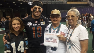 Click To Read More Feedback from Arizona Rattlers vs. Green Bay Blizzard - IFL