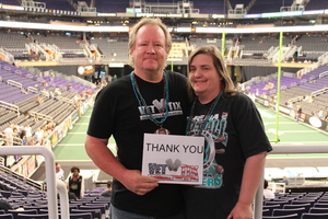 Bruce attended Arizona Rattlers vs. Green Bay Blizzard - IFL on Apr 29th 2017 via VetTix