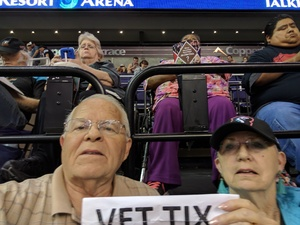 Leslie attended Arizona Rattlers vs. Green Bay Blizzard - IFL on Apr 29th 2017 via VetTix