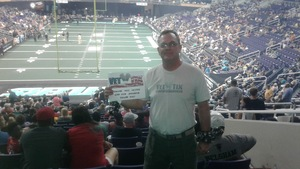 Mike  Jr attended Arizona Rattlers vs. Green Bay Blizzard - IFL on Apr 29th 2017 via VetTix
