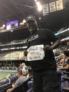 DECARLO attended Arizona Rattlers vs. Green Bay Blizzard - IFL on Apr 29th 2017 via VetTix