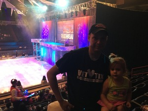 Sam attended Disney on Ice Presents Follow Your Heart on Apr 27th 2017 via VetTix