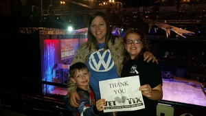 Jaime attended Disney on Ice Presents Follow Your Heart - Friday Night Show on Apr 28th 2017 via VetTix