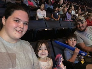 glenn attended Disney on Ice Presents Follow Your Heart - Friday Night Show on Apr 28th 2017 via VetTix