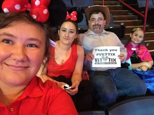 Charles attended Disney on Ice Presents Follow Your Heart - Friday Night Show on Apr 28th 2017 via VetTix