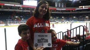 Click To Read More Feedback from Kelly Cup Champions Allen Americans vs. Colorado Eagles - ECHL Playoff Hockey - Round Two - ECHL