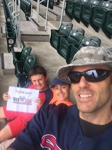 Click To Read More Feedback from Minnesota Twins vs. Detroit Tigers - MLB - Armed Forces Appreciation Day!