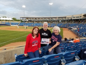 Paul attended Lake Country Captains vs. West Michigan - MILB on May 18th 2017 via VetTix