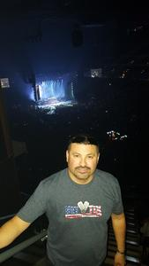 Frankie attended Zac Brown Band - Welcome Home Tour on May 4th 2017 via VetTix
