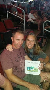 Jennifer attended Zac Brown Band - Welcome Home Tour on May 4th 2017 via VetTix