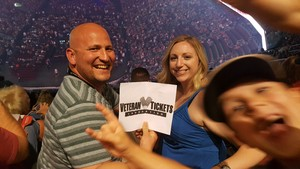 Terry attended Zac Brown Band - Welcome Home Tour on May 4th 2017 via VetTix