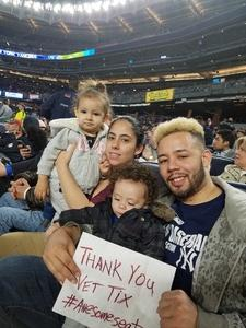 Click To Read More Feedback from New York Yankees vs. Toronto Blue Jays - MLB - Dugout Seating
