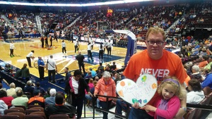 Click To Read More Feedback from Connecticut Sun vs. Minnesota Lynx - WNBA - Basketball