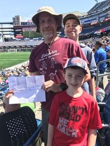 Click To Read More Feedback from New England Revolution vs. Columbus Crew - Salute to Heroes - MLS