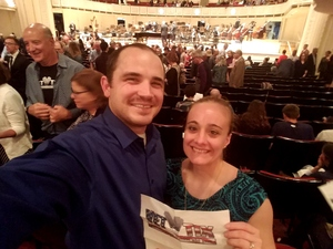 Richard attended Gershwin Piano Concerto and Dvorak Symphony No. 6 - Presented by the Chicago Symphony Orchestra on May 27th 2017 via VetTix
