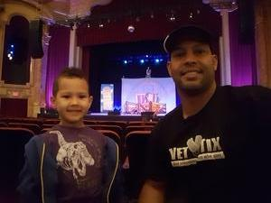 RAY attended Charlotte's Web - Morning Show on May 20th 2017 via VetTix