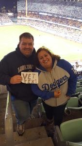 Anthony attended Los Angeles Dodgers vs. Pittsburgh Pirates - MLB on May 9th 2017 via VetTix