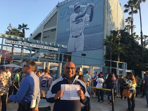 salim attended Los Angeles Dodgers vs. Pittsburgh Pirates - MLB on May 9th 2017 via VetTix