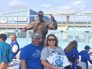 James attended Los Angeles Dodgers vs. Pittsburgh Pirates - MLB on May 9th 2017 via VetTix