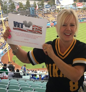 Victoria attended Los Angeles Dodgers vs. Pittsburgh Pirates - MLB on May 9th 2017 via VetTix