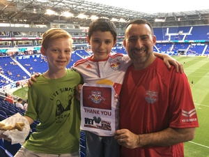 Marc attended New York Red Bulls vs. Toronto FC - MLS on May 19th 2017 via VetTix