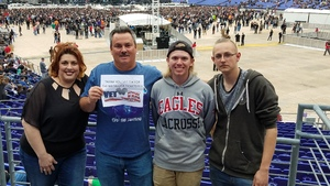 Dan Hudson attended Metallica Worldwired Tour With Special Guest Avenged Sevenfold With Volbeat on May 10th 2017 via VetTix