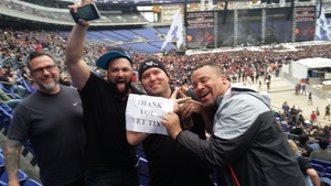 Sgt Johnson attended Metallica Worldwired Tour With Special Guest Avenged Sevenfold With Volbeat on May 10th 2017 via VetTix