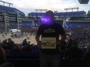 Wayne attended Metallica Worldwired Tour With Special Guest Avenged Sevenfold With Volbeat on May 10th 2017 via VetTix