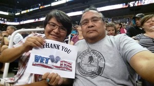Wil attended Arizona Rattlers vs. Salt Lake Screaming Eagles - IFL on May 20th 2017 via VetTix