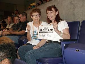 Marilynn attended Arizona Rattlers vs. Salt Lake Screaming Eagles - IFL on May 20th 2017 via VetTix