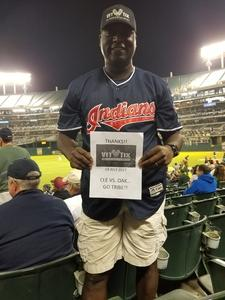 Click To Read More Feedback from Oakland Athletics vs. Cleveland Indians - MLB
