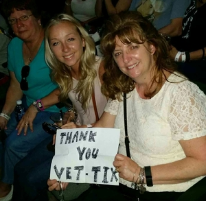 EDWARD attended Brad Paisley With Special Guest Dustin Lynch, Chase Bryant, and Lindsay Ell on May 19th 2017 via VetTix