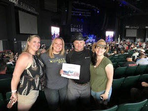 Rich attended Brad Paisley With Special Guest Dustin Lynch, Chase Bryant, and Lindsay Ell on May 19th 2017 via VetTix