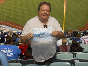 Brian attended Los Angeles Dodgers vs. St. Louis Cardinals - MLB on May 24th 2017 via VetTix