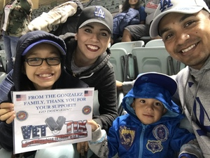 Miguel attended Los Angeles Dodgers vs. St. Louis Cardinals - MLB on May 24th 2017 via VetTix